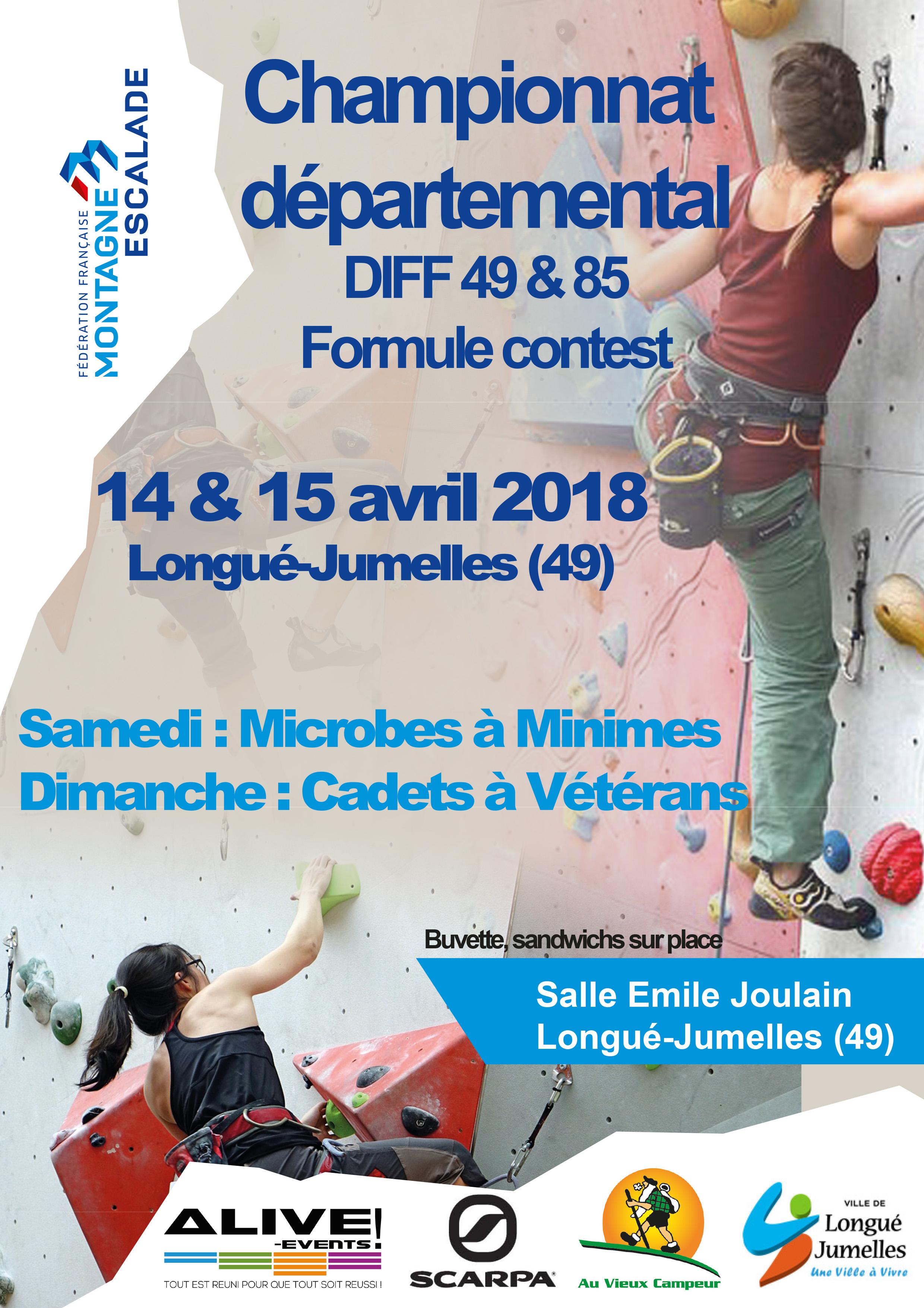 Championnat départemental DIFF 2018